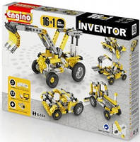 Конструктор серии INVENTOR 16 в 1 - Строительная техника
