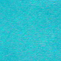 Креп-бумага (гофрированная бумага) Лазурная 50X200 см N20 Польша 30-40 грамм