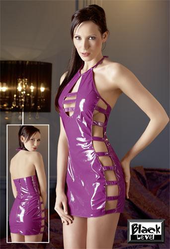Лаковое платье ФИОЛЕТТА (L)