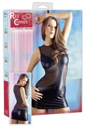 Мини-платье чёрное (L)