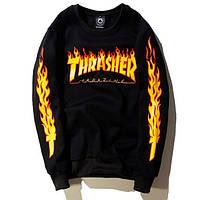 Thrasher свитшот мужской   Трешер кофта Skate Mag   Кофта мужская