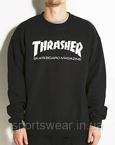 Thrasher свитшот мужской  | Трешер кофта Skate Mag | Кофта мужская