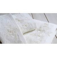 Полотенце махровое Irya Wedding Great молочное