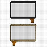 """Сенсорный экран для планшетов China-Tablet PC 10,1""""; Tesla Atom; Assistant AP-115G IPS HD, 10,1"""", 162 мм, 240 мм, 50 pin, емкостный, черный,"""