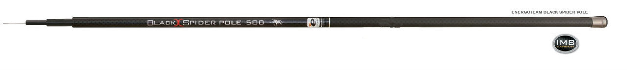 Вудлище ET Black Spider Pole IM8 5м/тест 5-20гр б/к