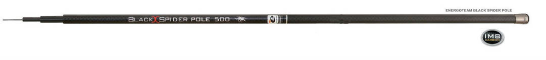 Вудлище ET Black Spider Pole IM8 5м/тест 5-20гр б/к, фото 2