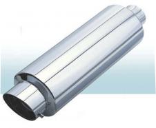Прямоточный глушитель CarEx, 445 мм , d=63,5 мм