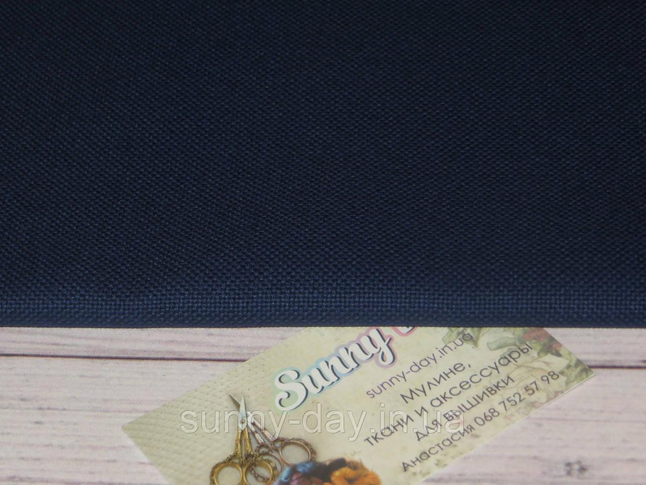 3835/589, Lugana, цвет -Navy (Темно-синий), 25ct