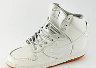 Сникерсы Nike белые Д399 р 41