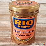 Тунец в подсолнечном масле Filetti di Tonno all*olio di Oliva, 180 г. Италия, фото 4