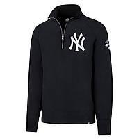 """Мужская толстовка 47 Brand Sport 1/4 Zip Pullover """"New York Yankees"""", S"""