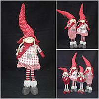 """Модная шитая игрушка """"Девочка в колпаке"""", выс. 38 см., 300/260 (цена за 1 шт. + 40 гр.), фото 1"""