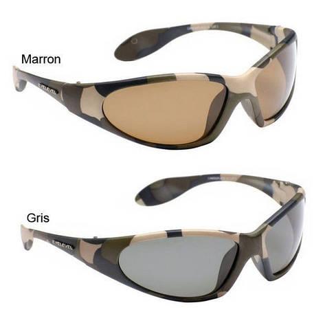 Поляризаційні окуляри EyeLevel Camouflage(лінзи чорні,коричневі), фото 2