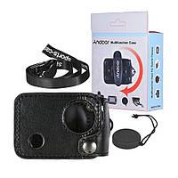 Многофункциональный кожаный чехол Andoer для Ultra HD 4К камеры