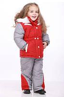 Комбинезоны и зимние курточки для девочек от годика до пяти лет