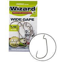 Крючок Wizard Wide Gape Worm 1/0 6 шт