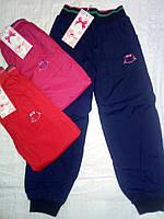 Балоневые брюки на флисовой подкладке  для девочек Хелло Китти 98-128  см