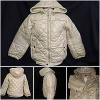 Демисезонная курточка на девочку, синтепон и флис, 6-7 лет, 550/385 (цена за 1 шт. + 165 гр.)