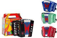 Гармошка - гармонь 6429/ M 835-H29006 (детский игрушечный баян, аккордеон) Royaltoys Несколько расцветок