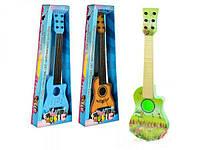 Детская 6 струнная гитара 188-90-92 из пластика (58х20,5х6,5) Royaltoys