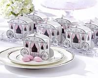 Бонбоньерки в виде кареток, красивые и оригинальные коробочки для конфет, фото 1