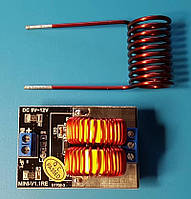 Модуль индукционного нагрева металла с катушкой 5V-12В