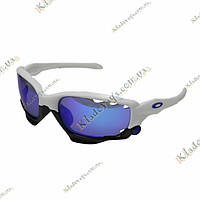 Велоочки Oakley Jawbone (replica) white\black