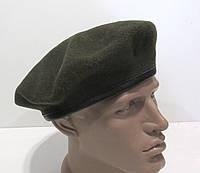 Берет военный темно зеленый 59, 1987, Отл сост!