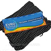 """Резинки бельевые (5m/10шт) черные """"Зебра"""", тесьма эластичная полиэстер, фото 1"""