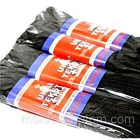 """Резинки бельевые """"Турция"""" (7m/4шт) черные, тесьма эластичная полиэстер"""