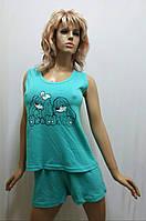 Хлопковая пижама с шортами 261
