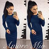 Жіноче плаття модне,тканина ангора-софт,розміри:42,44,46,48., фото 3