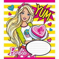Тетрадь ЗОШИТ УКРАИНЫ 12л линия BarbieParty