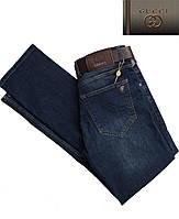 Джинсы мужские Gucci с ремнем.Новинка! Модные джинсы.