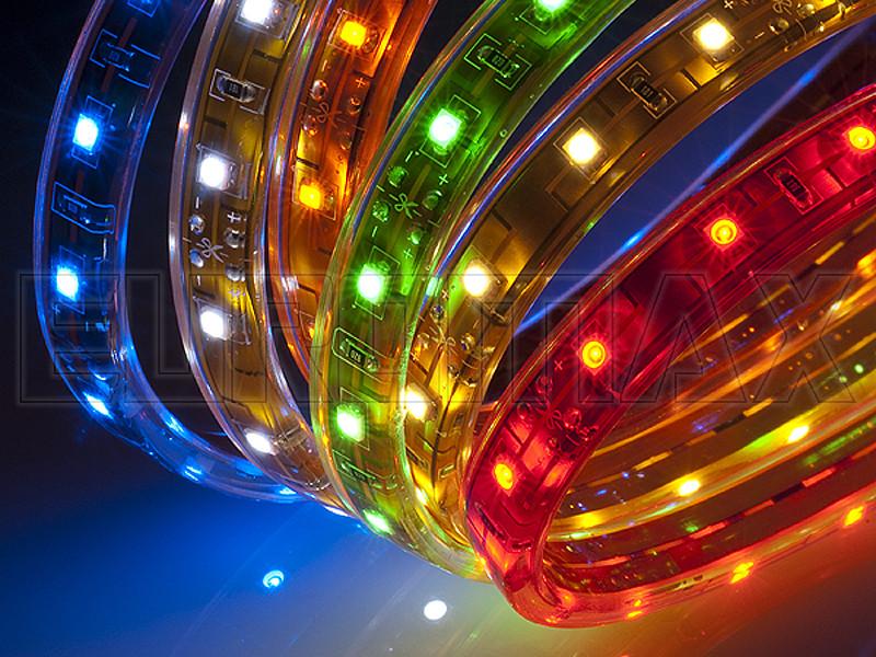 Светодиодная лента 5050 220В 20м (микс) 220V-5050-20M-RGB