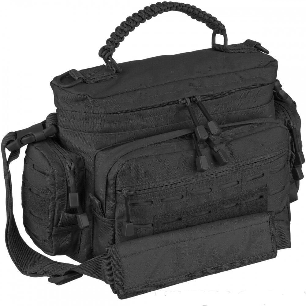 Mil-Tec Сумка тактическая PARACORD BAG SM чёрная 13726102