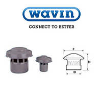 Выпуск вентиляционной канализационной трубы 110 мм WAVIN