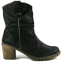 Ботильоны Janal ботинки черные