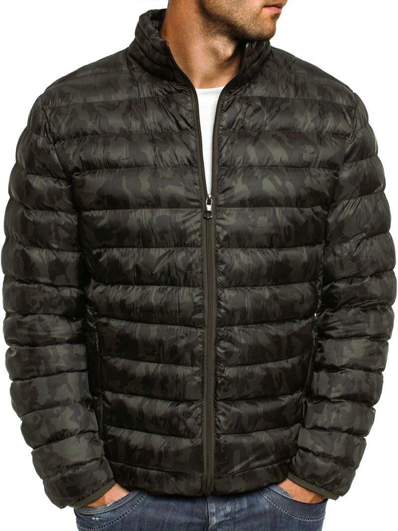 3576f74e50f6 Мужская зимняя куртка стеганая камуфляжная - Интернет-магазин обуви и одежды  KedON в Киеве