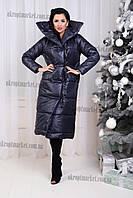 """Куртка-пальто женская зимняя (42-48) """"Gabriela-1"""" купить оптом со склада на LM-5540"""