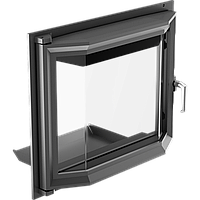 Призматические дверцы для камина Kratki Maja 491х600 мм, фото 1