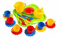 Набор игрушечной посуды Ромашка 24 элемента 39156