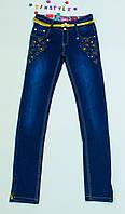 Очаровательные джинсы  для девочки на рост 164,170