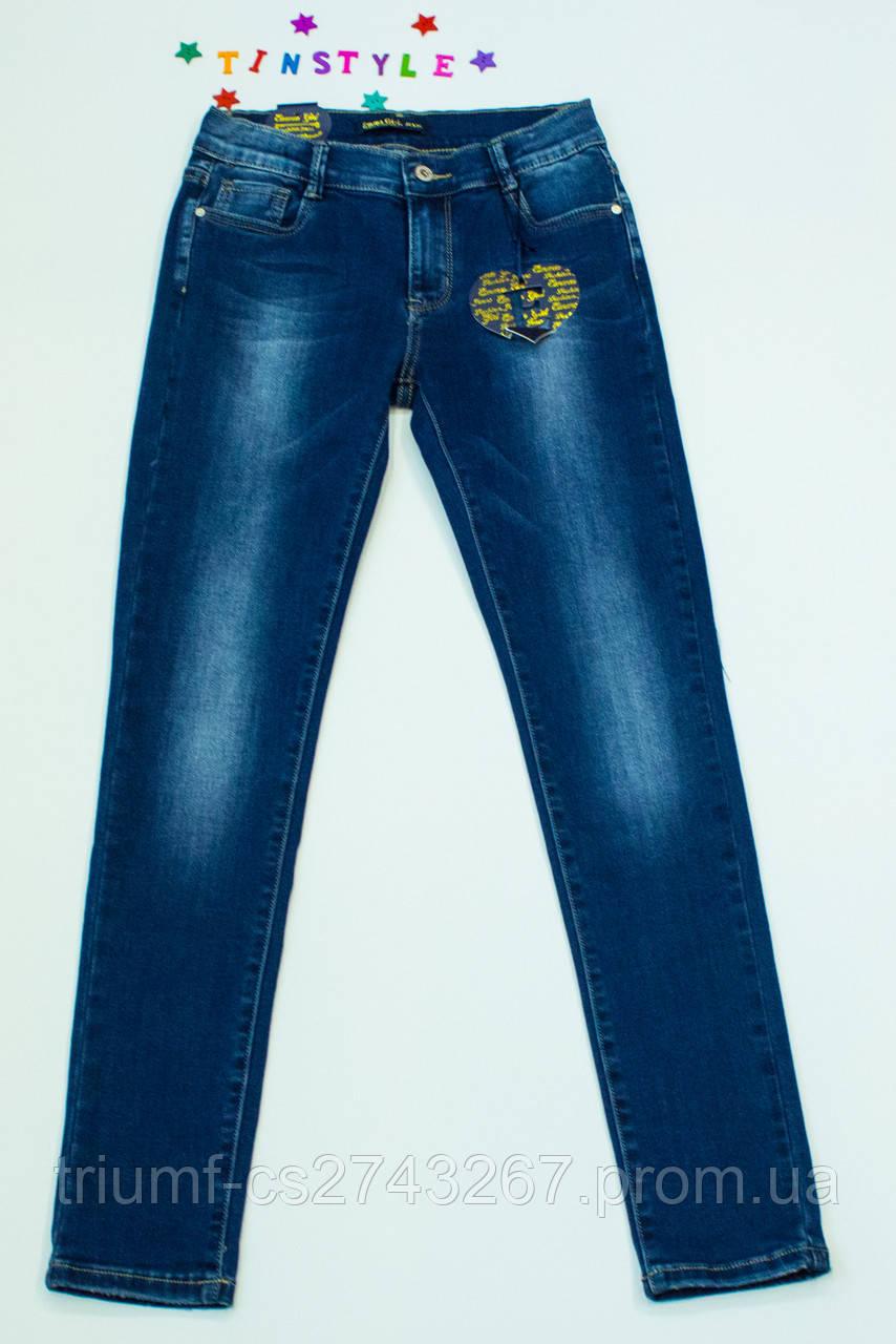 """Очаровательные джинсы  для девочки на рост 158,164,170 -  Интернет -магазин """"Tinstyle""""-  модная креативная молодежная одежда.Одежда для детей и подростков  в Кривом Роге"""