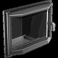 Призматические дверцы для камина Kratki Oliwia 515х738 мм, фото 1