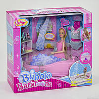 Кукла Anlily с набором Ванная комната