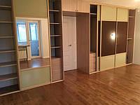 Встроенный шкаф длинный