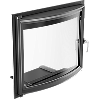 Панорамные дверцы для камина Kratki Amelia 607х750 мм, фото 1