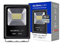 Прожектор GLOBAL FLOOD LIGHT 20W 5000K (1-LFL-002)