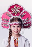 Кокошник Забава, карнавальный головной убор / BL - ВК10